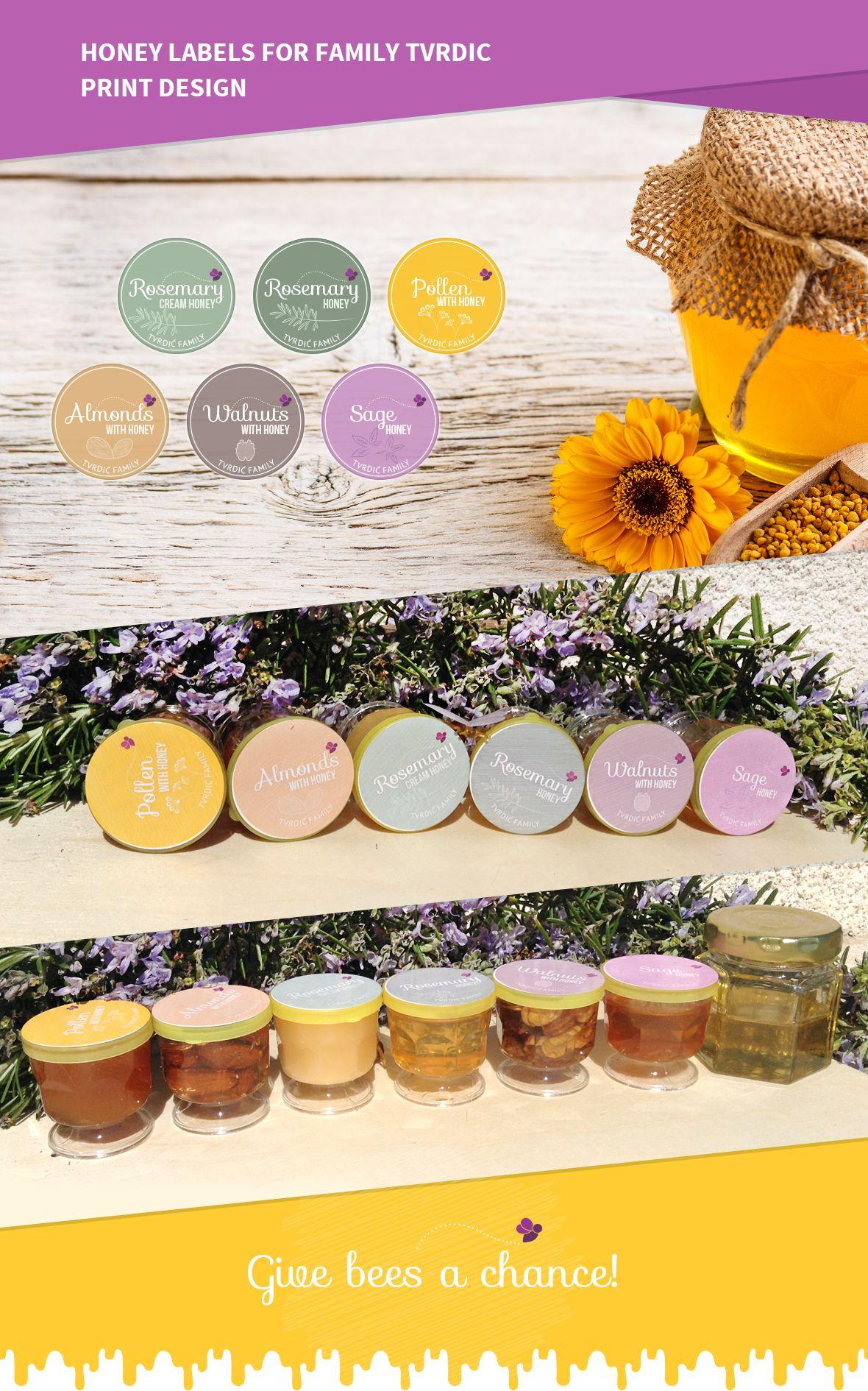 Honey Labels for Tvrdic Family